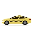 Taxi Cab Isolated vector image vector image