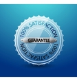 Transparent glass guarantee label vector | Price: 1 Credit (USD $1)