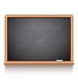 Black School Chalk Board vector image