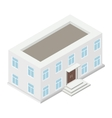 Architecture isometric house vector image vector image