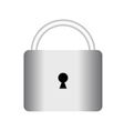 lock hinged vector image