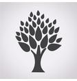 tree symbol icon vector image