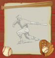 Vintage baseball party vector | Price: 1 Credit (USD $1)