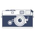Vintage Camera Clipart Art vector image