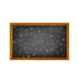 welcome back to schoo with black board vector image