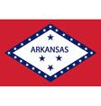 Flag of Arkansas vector image