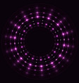 abstract violet round frame vector image vector image