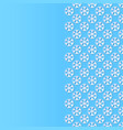 background with paper cut style snowflakes vector image vector image