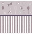 cute girlish frame with balloons bows gift button