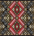 ethnic style greek seamless pattern vector image vector image