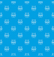 fence prison pattern seamless blue vector image vector image
