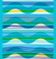 geometric abstract seamless pattern random vector image vector image
