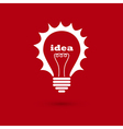 idea bulb 2 vector image