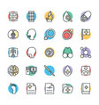 Medical and Health Cool Icons 4 vector image