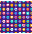 pattern social media vector image