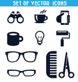 set icons 3 vector image vector image