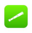 spyglass icon digital green vector image