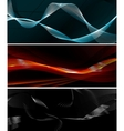 Wave banners vector image