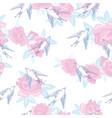 swallow bird pattern vector image