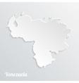 Abstract icon map of Venezuela vector image vector image