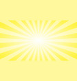 Abstract yellow sun rays background summer sunny