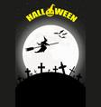 happy halloween day vector image vector image