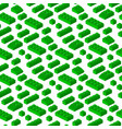 isometric constructor blocks 3d seamless pattern vector image