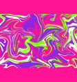 modern 2019 colors abstract neon acrylic painting vector image vector image