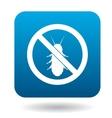 No termite sign icon simple style vector image vector image