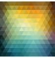 Abstract retro hipster geometric background vector image vector image