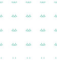 bra icon pattern seamless white background vector image vector image