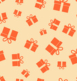 Gift Pattern Seamless vector image
