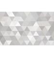 mosaic white background vector image
