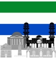 Republic of Sierra Leone vector image
