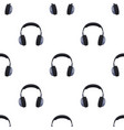vintage headphones icon in cartoon style isolated vector image vector image
