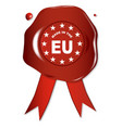 made in the eu vector image