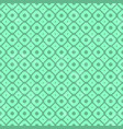 pattern in retro style on green background vector image