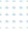 toy car icon pattern seamless white background vector image vector image