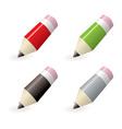 lead pencil icons vector image