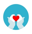 flat icon sweet love vector image