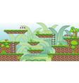 2d tileset platform game 27 vector image vector image
