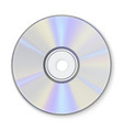compact disc information storage realistic vector image