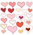 frame valentine vector image vector image