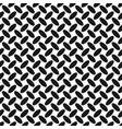 monochrome halftone ellipse pattern background vector image vector image