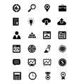 SEO and Marketing Icons 1 vector image vector image