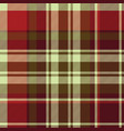 british classic check plaid seamless pattern vector image vector image