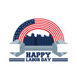 construction tool to celebrate labor day vector image vector image