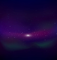 Cosmic background vector image