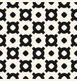 geometric seamless pattern with circles crosses vector image