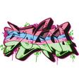 Graffito - sound vector image